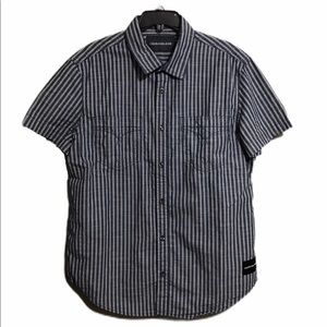 Calvin Klein Large Short Sleeve Button Up